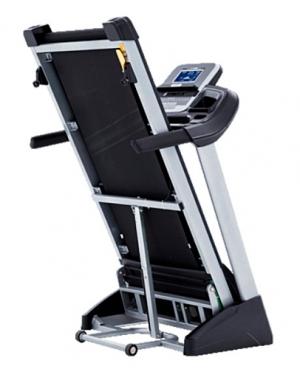 Беговая дорожка XT185 (2017) Spirit Fitness в сложенном состоянии