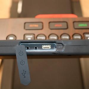 Разъем USB и mini-Jack DFC ELEGANT