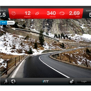 Экран NordicTrack 2950