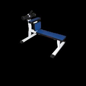 Скамья для скручивания (римский стул) MB 2.10 белый MB Barbell