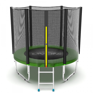 Батут 6 футов с внешней сеткой External 6ft Green Evo Jump