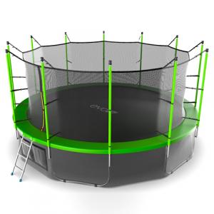 Батут 488см (16фут) внутренняя и нижняя сетка Internal 16ft Green+LN Evo Jump