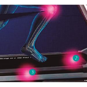 Встроенная амортизация на основе 6 демпфирующих эластомеров, для безопасности ваших суставов