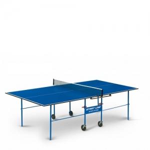 Теннисный стол Olympic Optima с сеткой 6023-2 Blue Start Line