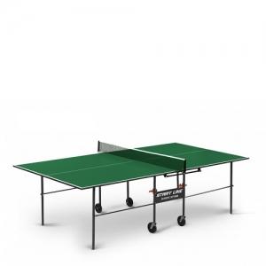 Теннисный стол Olympic Optima с сеткой 6023-3 Green Start Line