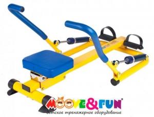 Гребной тренажер для детей SH-04 Moove&Fun