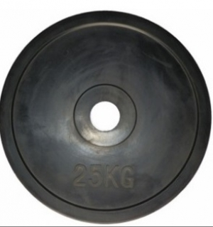 Диск ф 26мм, 2,5 кг, черный 100325 IronBull