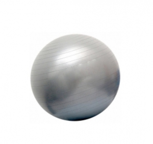 Гимнастический мяч повышенной прочности 75см 97403FL серебро Flexter