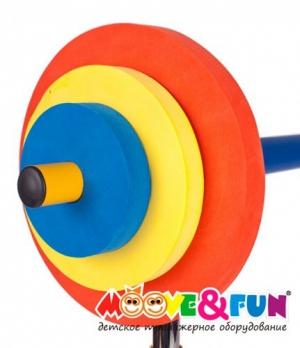 Скамья со стойкой для детей SH-06 Moove&Fun