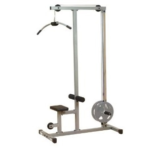 Верхняя тяга на свободных весах PLM180x Body-Solid