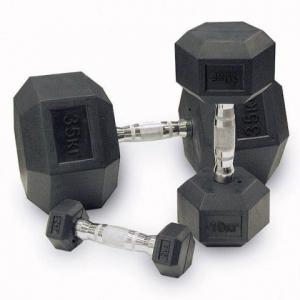 Гантель обрезиненная 1 кг SDRK1 Body-Solid