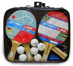 Набор 4 Ракетки Level 100, 6 Мячей Club Select 61-452 Start Line