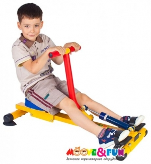 Гребной тренажер для детей SH-04-A Moove&Fun