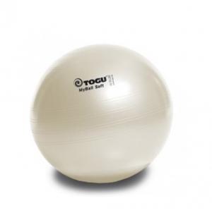 Гимнастический мяч 55см My Ball Soft белый перлам TOGU