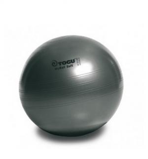 Гимнастический мяч 75см My Ball Soft черный перла TOGU