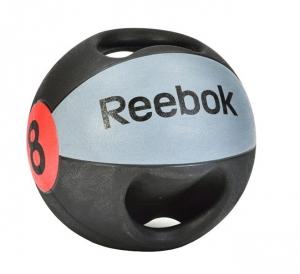 Медицинский мяч с ручками 8 кг RSB-10128 Reebok