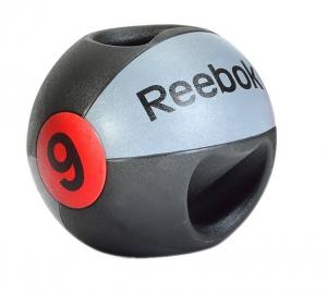 Медицинский мяч с ручками 9 кг RSB-10129 Reebok