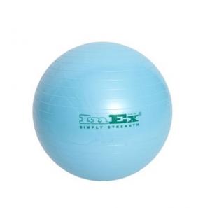Гимнастический мяч 55см IN/BU-22 голубой INEX