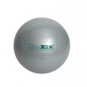 Гимнастический мяч 65см IN/BU-26 серебряный INEX
