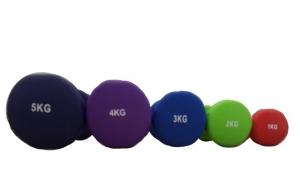 Гантели неопреновые 4кг SVFP201-4-фиолетовый Svarog