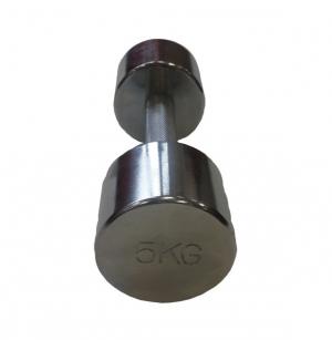 Гантель хромированная 5кг SVPP101-5 Svarog