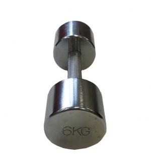Гантель хромированная 6кг SVPP101-6 Svarog