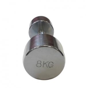 Гантель хромированная 8кг SVPP101-8 Svarog
