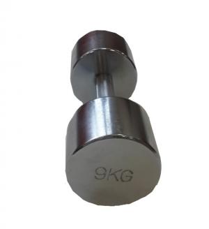 Гантель хромированная 9кг SVPP101-9 Svarog