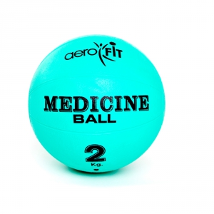 Медицинский мяч 2кг FT-MB-2K-V зеленый Aerofit