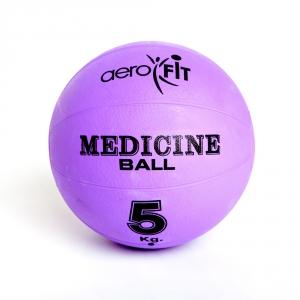 Медицинский мяч 5кг FT-MB-5K-V фиолетовый Aerofit