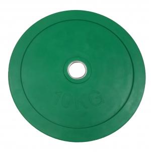 Диск для штанги 10кг d=50мм зеленый евро-классик SVPP201-10C Svarog