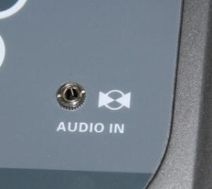 Вход для подключения CD/MP3 проигрывателя